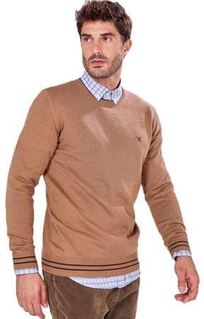 AUDEN CAVILL moški pulover, L, rjav