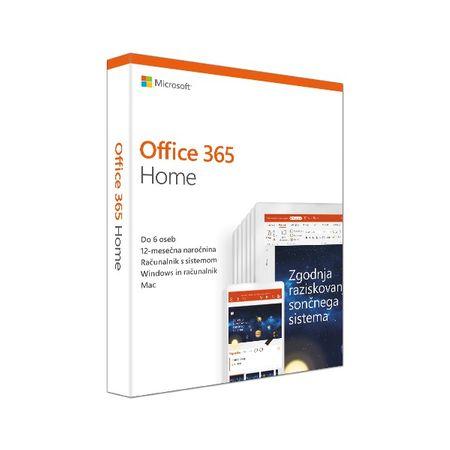 Microsoft Office 365 Home (Microsoft 365 Family), 1 letna naročnina, slovenski