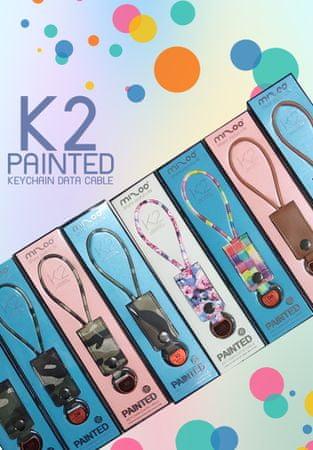 Mizoo Kolorowy brelok K2 Micro USB