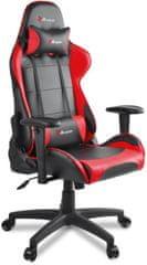 Arozzi Verona V2 igrači stolac, crno-crveni