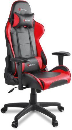 Arozzi Verona V2 gamerski stol, črno-rdeč