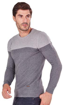 AUDEN CAVILL pánský svetr L sivá