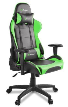 Arozzi Verona V2 gamerski stol, črno-zelen