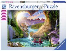 Ravensburger Jaskinia Heartview 1000 puzzli