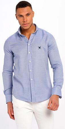 AUDEN CAVILL pánská košile M modrá
