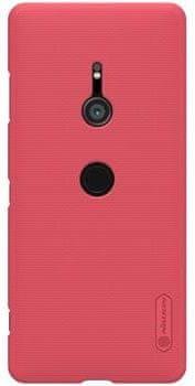 Nillkin Super Frosted Red Hátlapi tok a Sony H9436 Xperia XZ3 számára 2441608