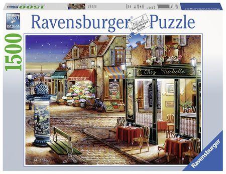 Ravensburger sestavljanka Skriti kotiček v Parizu, 1500 kosov