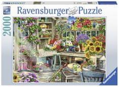 Ravensburger Rajski ogród 2000 puzzli