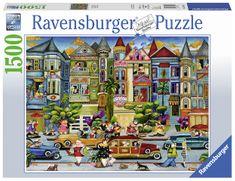 Ravensburger Malowane domy 1500 puzzli