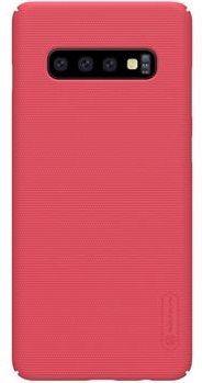 Nillkin Super Frosted Zadní Kryt Red pro Samsung Galaxy S10+ 2442871