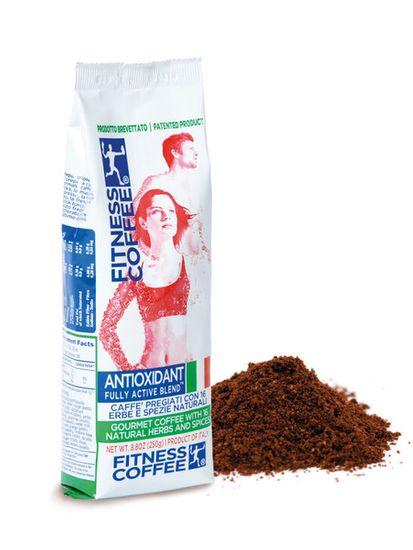 Fitness coffee Antioxidant fully active blend 250 g mletá káva