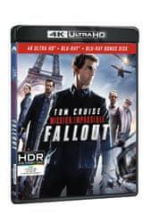 Mission: Impossible - Fallout (3 disky: UHD+BD+bonus disk) - Blu-ray + 4K Ultra HD