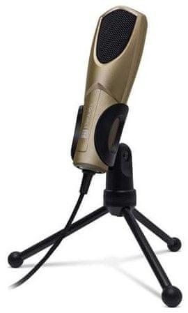 Connect IT YouMic mikrofon USB šampaň - rozbalené