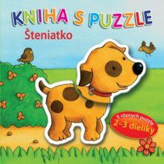 autor neuvedený: Kniha s puzzle - Šteniatko