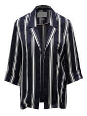 Rich & Royal tmavě modré pruhované sako