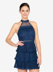 AX Paris tmavě modré šaty bez rukávů