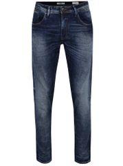Blend tmavě modré slim fit džíny