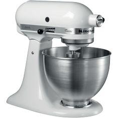 KitchenAid mešalnik Classic (KA5K45SSEWH), bel