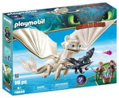 Playmobil Svijetli Bes s malim zmajem i djecom, 70038