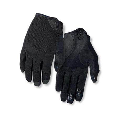 Giro kolesarske rokavice DND, Black, črne, XL