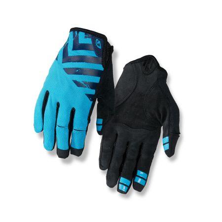 Giro kolesarske rokavice DND, Midnight/Blue Jewel/Black, modro črne, M