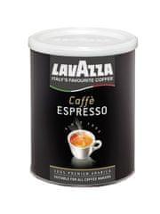 Lavazza Espresso 100% Arabica 250 g dóza, mletá káva