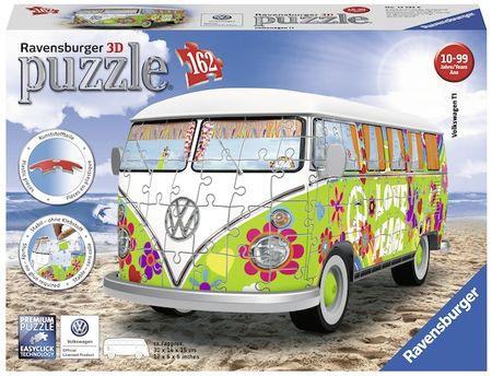 Ravensburger Volkswagen T1 Hippie busz 162 darabos