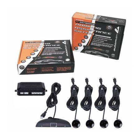 Automax senzor parkirni 12V, 4 kom, crni