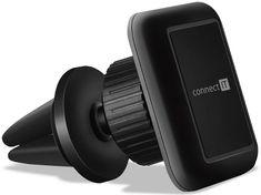 Connect IT Uniwersalny magnetyczny uchwyt samochodowy InCarz 4Strong360, 4 magnesy, czarny CMC-4044-BK