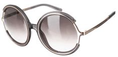 Chloé dámské stříbrné sluneční brýle