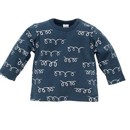 Pinokio gyerek póló Happy Llama 68 kék