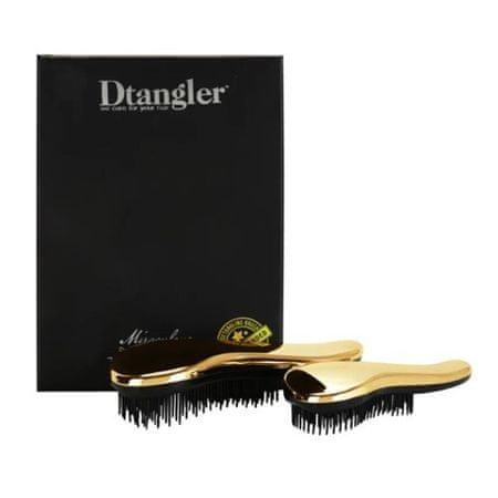 Dtangler Dárková sada kartáčů na vlasy Miraculous Gold