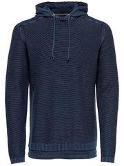 ONLY&SONS Pánsky sveter Wincenty 12 Hoodie Knit Dark Navy