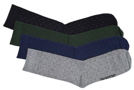 ONLY&SONS Skarpetki męskie Niko Dots Socks 4-Pack Noos Black