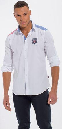 Jimmy Sanders pánská košile M biela
