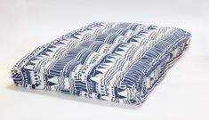 Kaemingk Sedák na paletu Graphic 120x80x8cm modrý