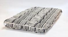 Kaemingk Poduška na paletu Graphic 120x80x8cm čierna - rozbalené