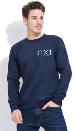 Christian Lacroix Anato férfi pulóver M sötétkék
