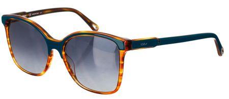 Chloé damskie pomarańczowe okulary przeciwsłoneczne