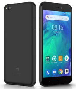 Xiaomi Redmi Go, velká výdrž baterie, první telefon, odolný, malý