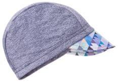 Unuo chlapecká čepice s kšiltem Mini trojúhelníčky UV 50+