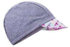 Unuo Dívčí čepice s kšiltem Mini trojúhelníčky UV 50+