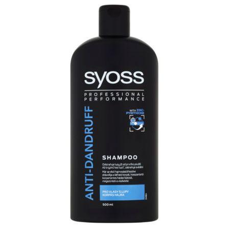Syoss Haj sampon, korpásodás elleni (Shampoo) 500 ml