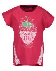 Blue Seven dekliška majica z motivom jagode
