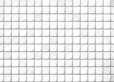 Gekkofix Samolepiaca fólia dekoratívna 11509 KACHLIČKY bielo-strierorné - šírka 45 cm