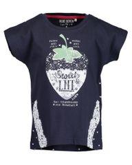 Blue Seven dívčí tričko s jahůdkou