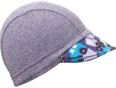 Unuo Dívčí čepice s kšiltem Autíčka UV 50+