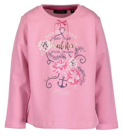 Blue Seven dívčí tričko s mašličkou 92 ružová