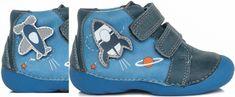 D-D-step chlapecké kotníkové boty s výměnnou aplikací