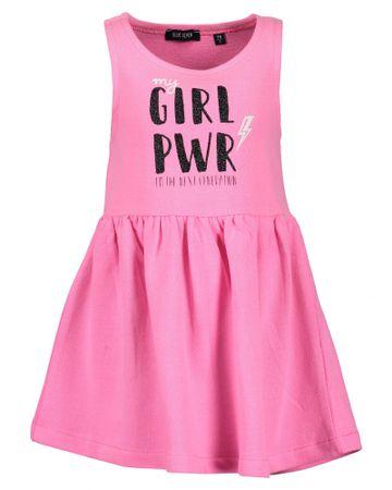 Blue Seven lány ruha nyomtatott mintával 122 rózsaszín